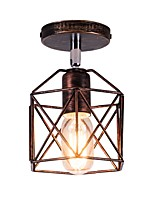 cheap -Retro/Vintage Flush Mount For Living Room Bedroom AC 110-120 AC 220-240V Bulb Not Included