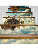 cheap -3D Wall Stickers Plane Wall Stickers 3D Wall Stickers Decorative Wall Stickers,Vinyl Home Decoration Wall Decal Wall