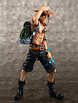 cheap -Anime Action Figures Inspired by One Piece Ace PVC CM Model Toys Doll Toy