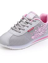 economico -Per donna Scarpe Tulle Primavera Autunno Comoda Sneakers Piatto per Casual Grigio Giallo Rosso