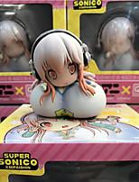 economico -action figure animate ispirate al super sonico in pvc 5 cm modello giocattoli bambola giocattolo
