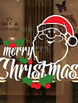 Noël Stickers muraux Autocollants avion Autocollants muraux décoratifs,Vinyle Décoration d'intérieur Calque Mural Mur Fenêtre