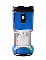 cheap -Lanterns & Tent Lights LED 100 lm Automatic Mode LED with USB Cable Form Fit Solar Power Camping/Hiking/Caving Blue