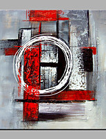 Hand-Painted Abstract Square,Modern Canvas Oil Painting Home Decoration One Panel