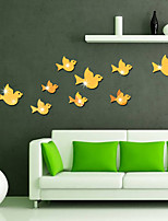 Animals Mirrors Wall Stickers 3D Wall Stickers Mirror Wall Stickers Decorative Wall Stickers,Vinyl Home Decoration Wall Decal Wall