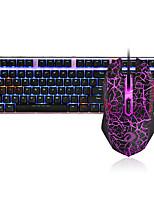 baratos -dareu g60 com fio teclado mecânico mouse azul comutadores 1.8m sete teclas 1600dpi