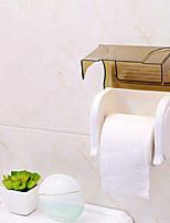 Modern Toilet Paper Holders plastic Non Skid Solid Semi-opaque