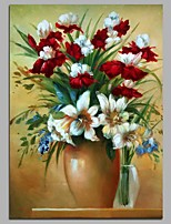 cheap -Hand-Painted Still Life Vertical,Classical Canvas Oil Painting Home Decoration One Panel