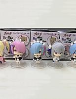 anime action figures ispirate al re: zero vita di partenza in un altro mondo rem pvc 23 * 10 * 10 cm modello giocattoli bambola giocattolo