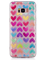 cheap -Case For Samsung Galaxy S8 Plus S8 Pattern Back Cover Heart Soft TPU for S8 Plus S8