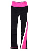 cheap -Over The Boot Figure Skating Tights Women's Kid's Ice Skating Pants / Trousers Sweatshirt Bottoms Pink Spandex Stretchy Solid Performance