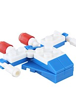 cheap -Building Blocks Fighter Toys Plane / Aircraft Military Stress and Anxiety Relief Decompression Toys Parent-Child Interaction ABS Kids