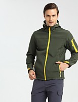 cheap -Men's Hiking Fleece Jacket Outdoor Winter Keep Warm Fast Dry Wearable Top Single Slider Running/Jogging Camping / Hiking Casual