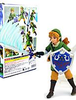 preiswerte -Anime Action-Figuren Inspiriert von The Legend of Zelda Link 14 CM Modell Spielzeug Puppe Spielzeug