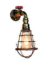 cheap -Rustic/Lodge Wall Sconces For Bedroom Hallway Metal Wall Light 220-240V 110-120V 3W