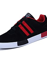 cheap -Men's Shoes PU Spring Fall Comfort Sneakers for Casual Black/Green Black/Red Black/White