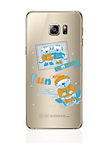 cheap -Case For Samsung Galaxy S8 Plus S8 Pattern Back Cover Cat Soft TPU for S8 Plus S8 S7 edge S7 S6 edge plus S6 edge S6