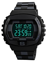 cheap -Kid's Couple's Casual Watch Sport Watch Fashion Watch Chinese Digital Calendar / date / day Water Resistant / Water Proof Dual Time Zones