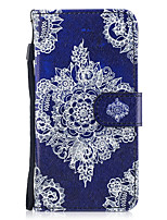 cheap -Case For Apple iPhone X iPhone 8 Card Holder Wallet with Stand Flip Pattern Full Body Cases Flower Hard PU Leather for iPhone X iPhone 8