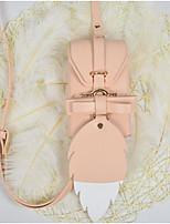cheap -Women Bags PU Shoulder Bag Buttons Zipper for Casual All Season Dark Green Almond Gray Red