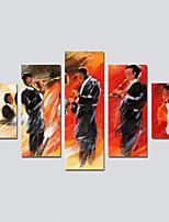 preiswerte -Leinwanddruck Modern,Fünf Panele Leinwand Druck Wand Dekoration Haus Dekoration
