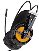 cheap -SOMIC  G938 It's a computer headset 7.1 sound effect game headset Wear comfortable with line control
