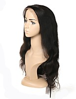 cheap -Body Wave 100% Hand Tied Remy Wigs Natural Hairline Short Medium Long Natural Black