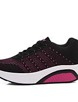 economico -Da donna Scarpe Tulle Estate Comoda Sneakers Footing Ballerina Punta chiusa per Casual Nero Grigio Viola Fucsia Rosa