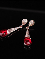 cheap -Women's Drop Earrings Sweet Fashion Crystal Alloy Drop Jewelry For Wedding Party