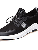 cheap -Men's Shoes Synthetic Spring Fall Comfort Sneakers for Casual Black