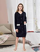 abordables -Style frais Peignoir,Multicolore Qualité supérieure Polyester/Coton Coton mélangé Serviette