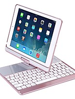abordables -Bluetooth teclado creativa Plegable Recargable por iOS iPad Air iPad Air 2 IPad (2017) IPad Pro 9.7 '' Bluetooth