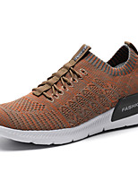 cheap -Men's Shoes Knit Spring Summer Comfort Sneakers for Casual Outdoor Khaki Gray Dark Blue Black
