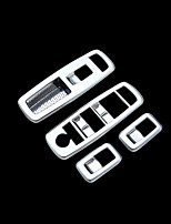 Недорогие -автомобильный выключатель стеклоподъемника охватывает DIY автомобильных интерьеров для джипа все годы Grand Cherokee пластик