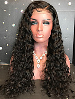cheap -New Curly 360 Lace Frontal Human Hair Lace Wigs with Baby Hair 100% Brazilian Human Hair Cheap 180% Density 360 Lace Wigs Pre Plucked Natural Hairline