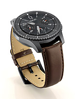 cheap -Watch Band for Gear S3 Classic Samsung Galaxy Wrist Strap Classic Buckle Genuine Leather