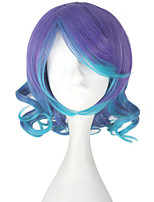cheap -Cosplay Wigs Vocaloid Megurine Luka Anime Cosplay Wigs 33 CM Heat Resistant Fiber Female
