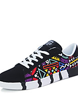 cheap -Men's Shoes PU Nubuck leather Spring Fall Comfort Sneakers for Casual White Black Blue