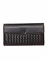 cheap -Women Bags PU Wallet Pockets for Casual All Season Black Champagne