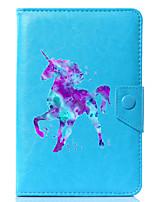 preiswerte -universal Einhorn pu-Leder Standabdeckung für 7 Zoll 8 Zoll 9 Zoll 10 Zoll Tablet PC