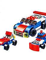 cheap -Building Blocks Toys Race Car Vehicles Military Hand-made Parent-Child Interaction Creative DIY ABS Boys Girls Boy's Pieces