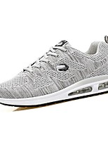 cheap -Men's Shoes Breathable Mesh Spring Fall Comfort Sneakers for Casual Outdoor Blue Black White