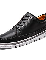 cheap -Men's Shoes Rubber Spring Fall Comfort Sneakers for Outdoor Black Brown