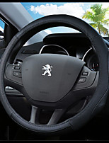 cheap -Automotive Steering Wheel Covers(Leather)For Peugeot 307 301
