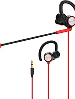 cheap -3.5mm Gaming Headset In Ear Dynamic Dual Driver Earphone Stereo Music Headphone Noise Isolating with Detachable Microphone for Mobile Phone Laptop