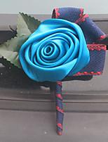 """abordables -flores de la boda boutonnieres boda evento / fiesta satinado 2.76 """"(aprox.7cm)"""