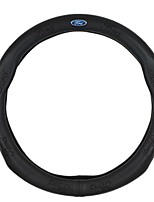 cheap -Automotive Steering Wheel Covers(Leather)For Ford All years Mondeo Kuga Ecosport Edge Focus