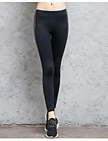 cheap -Women's Retro Cotton Opaque Print PU Legging,Plaid Print Black Blue