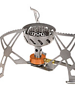 cheap -Camping Stove Camping Burner Stove Outdoor Cookware Easy to Install Stainless Steel for Camping
