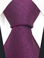 cheap -Silk Necktie, Vintage Work Casual All Seasons Purple
